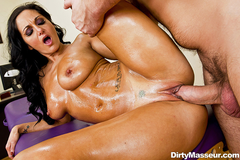 ava Addams rør erotisk massage video